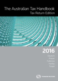 The Australian Tax Handbook Tax Return Edition
