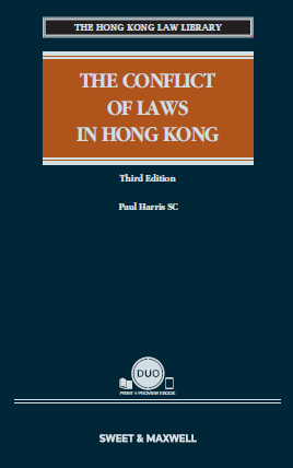 The Conflict of Laws in Hong Kong