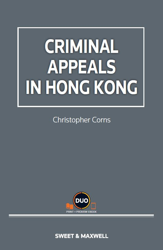 CRIMINAL APPEALS IN HONG KONG