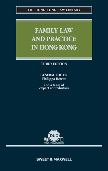 Family Law and Practice in Hong Kong, Third Edition