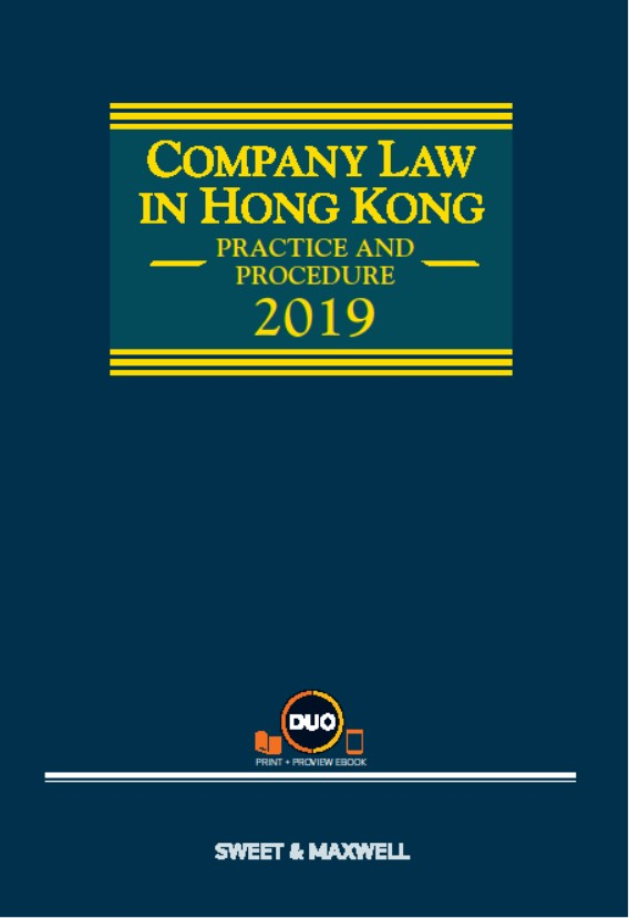 Company Law in Hong Kong: Practice and Procedure, 2019