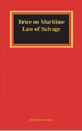 Brice on Maritime Law of Salvage, 6th Edition