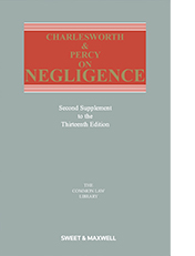 Charlesworth & Percy on Negligence 13th Edition, 2nd Supplement