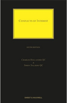 Conflicts of Interest, 6th Edition