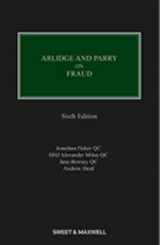 Arlidge and Parry on Fraud 6th Edition