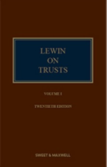 Lewin on Trusts, 20th Edition