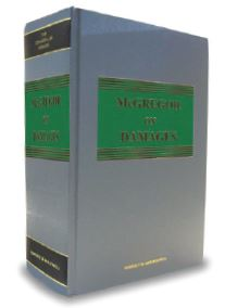 McGregor on Damages (20th Edition, Mainwork & Supplement)